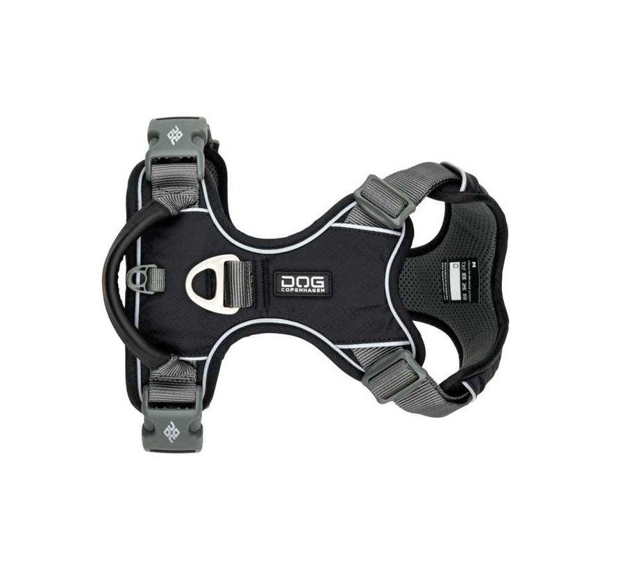 Dog Harness Comfort Walk Pro Black (V2)