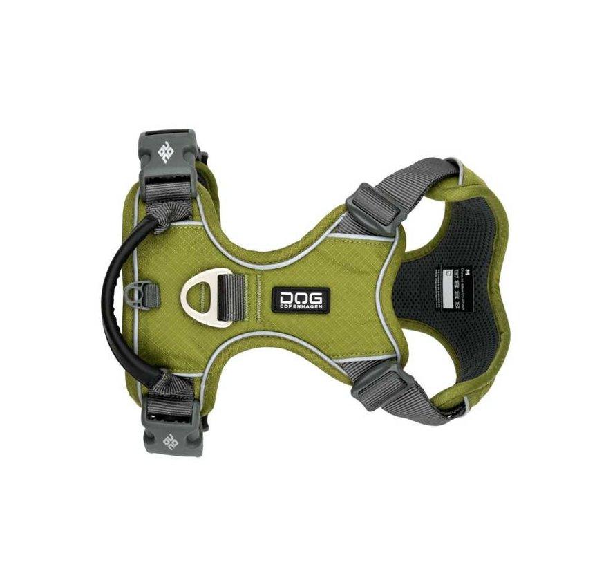 Dog Harness Comfort Walk Pro Hunting Green (V2)