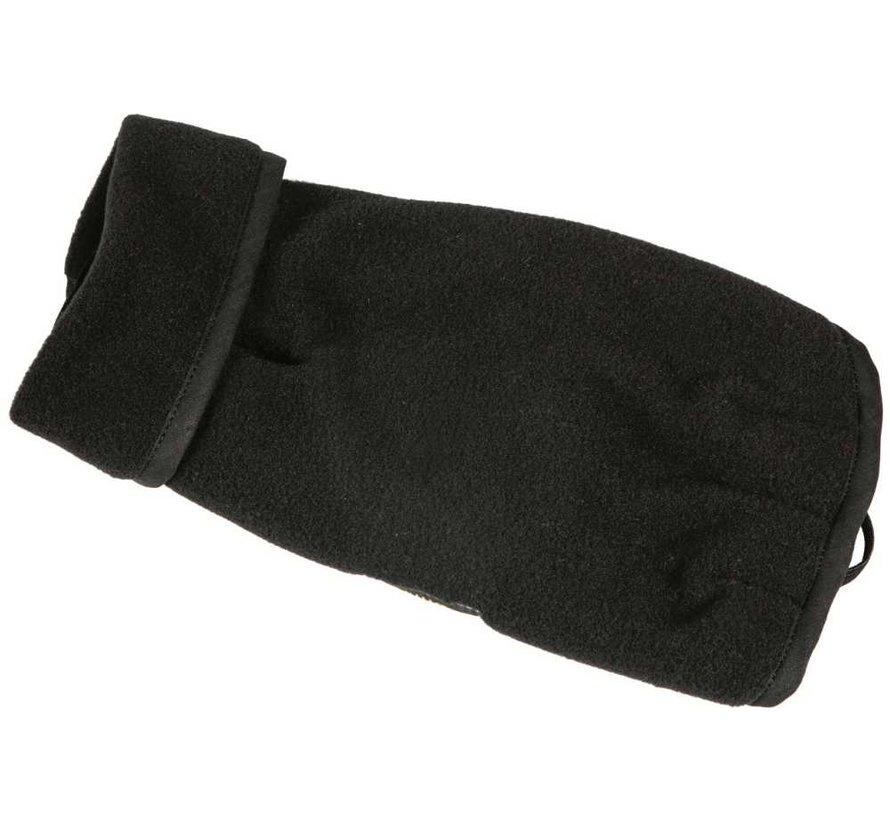 Dog Coat Fleece Black