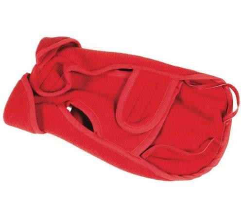 Fashion Dog Hondenjas Fleece Rood