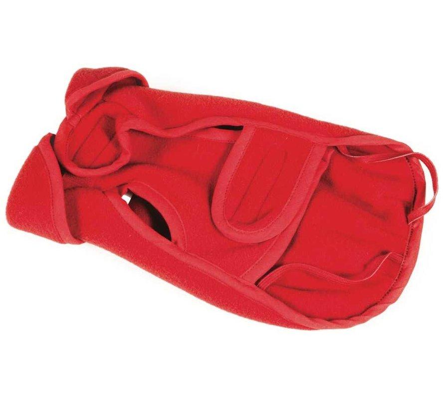 Dog Coat Fleece Red