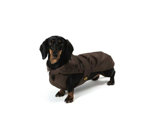 Fashion Dog Hondenjas Teckel Bruin