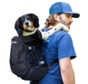 Hondenrugzak Plus Zwart 2