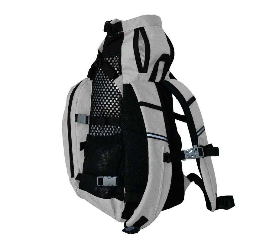Dog Backpack Plus Grey 2