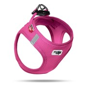 Curli Dog Harness Air Mesh Fuchsia