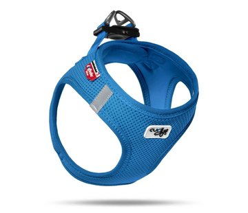 Curli Dog Harness Air Mesh Blue