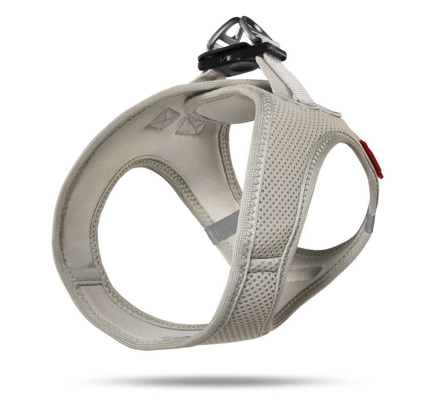 Hondentuig Air-Mesh Harness Grijs