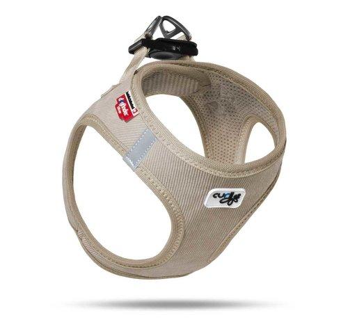 Curli Dog Harness Vest Cord Beige