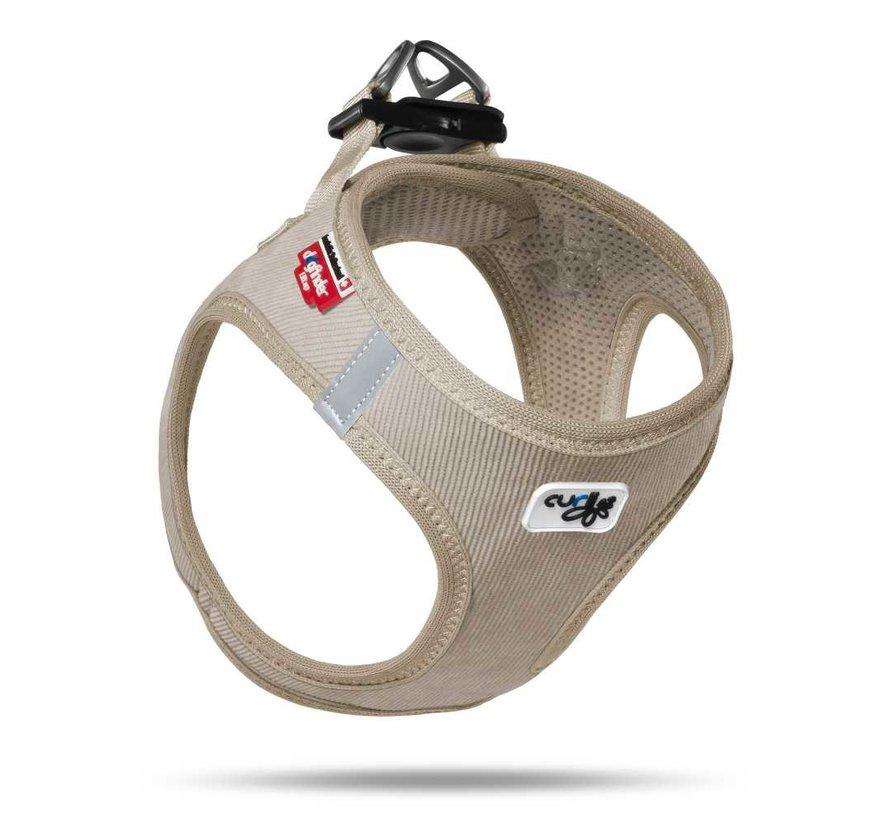 Dog Harness Vest Cord Beige