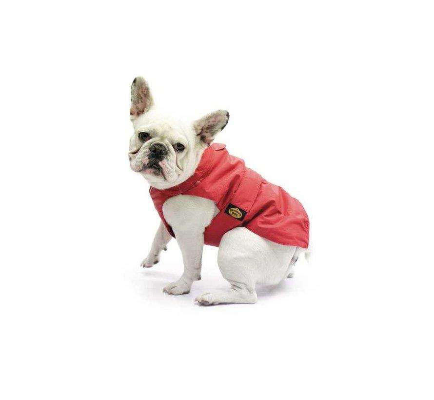 Dog Coat Pugs & French Bulldog Red