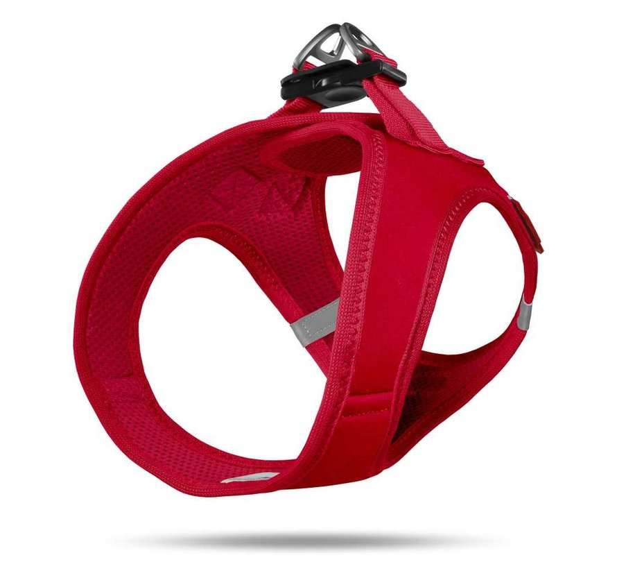 Dog Harness Softshell Red
