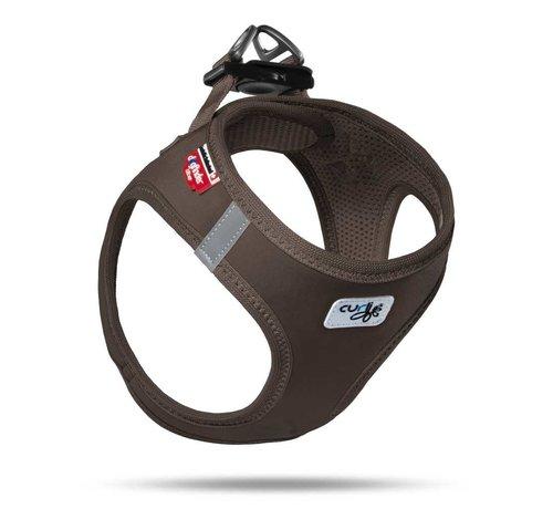 Curli Dog Harness Softshell Brown