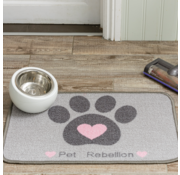 Pet Rebellion Voerbakmat Dinner Mate Heart