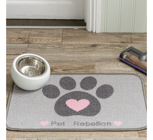 Pet Rebellion Placemat Dinner Mate Heart