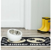 Pet Rebellion Placemat Dinner Mate Black