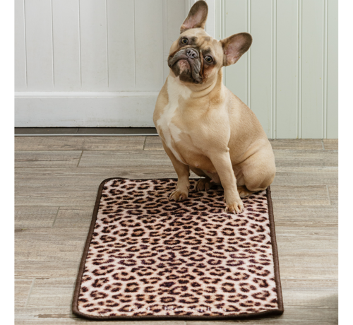 Pet Rebellion Barrier Rug Leapard