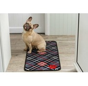 Pet Rebellion Droogloopmat Tartan