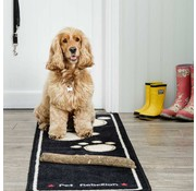 Pet Rebellion Droogloopmat Dog Runner zwart