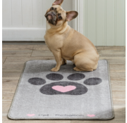 Pet Rebellion Droogloopmat Big Paws Heart