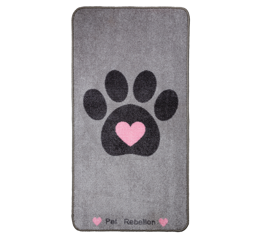 Barrier Rug Big Paws Heart
