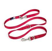 Curli Adjustable Dog Leash Red