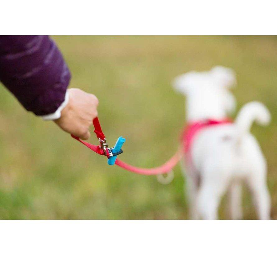 Verstelbare Hondenriem Rood