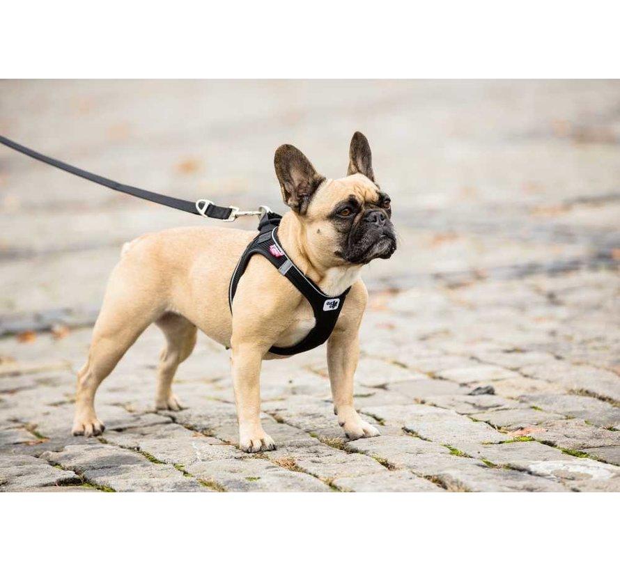 Verstelbare Hondenriem Zwart