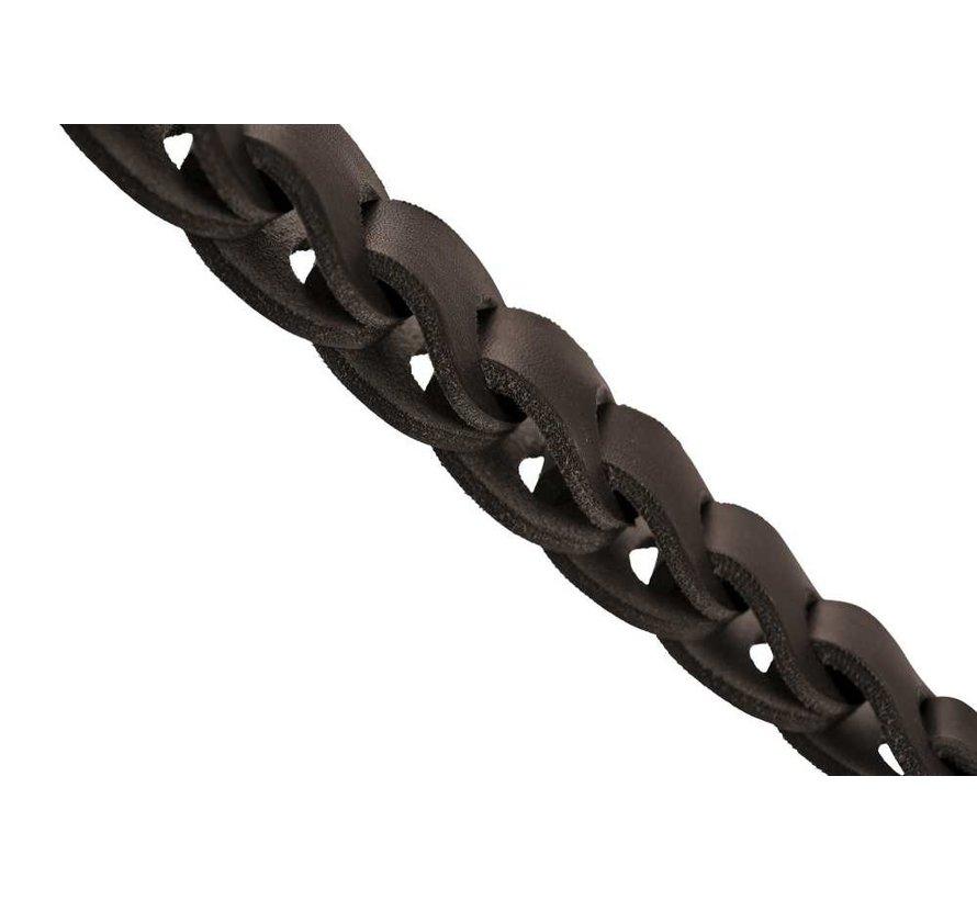 Dog Leash Solid Education Chain Dark Brown