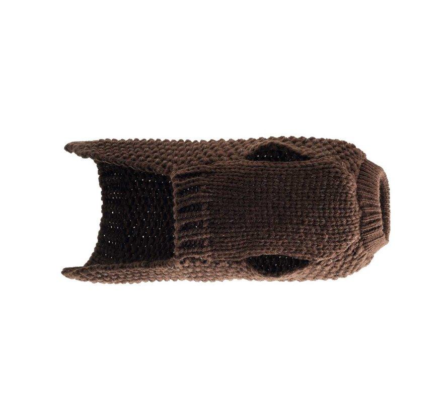 Dog Sweater Finja Brown