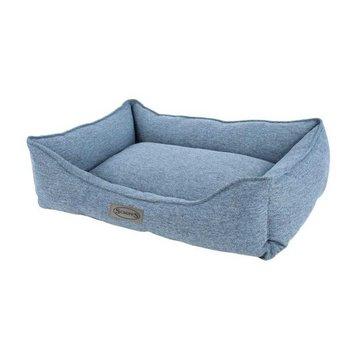 Scruffs Hondenmand Manhattan Box Bed Denim Blue