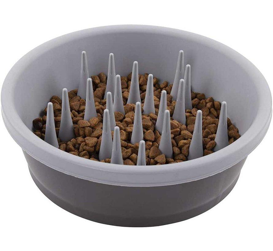 Food Bowl Slow Feeder Grey
