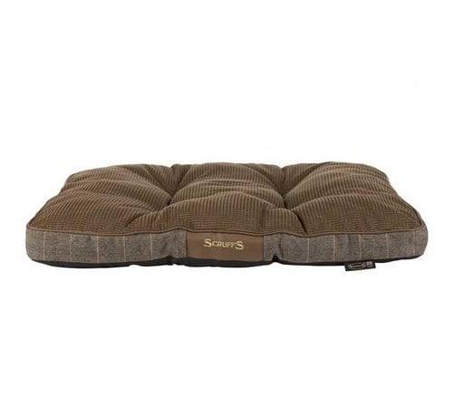 Scruffs Dog Cushion Windsor Brown