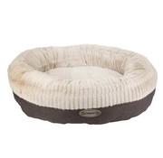 Scruffs Dog Bed Ellen Donut Grey