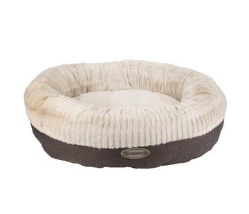 Scruffs Dog Bed Ellen Donut Grey