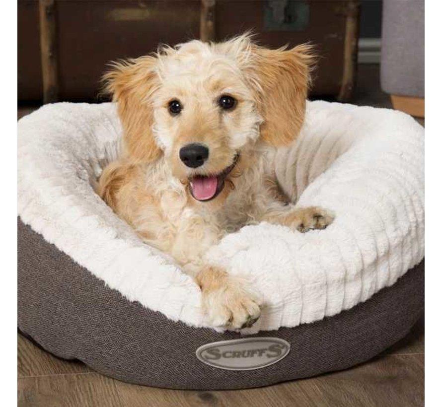 Hondenmand Ellen Donut Grijs