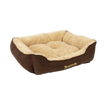 Scruffs Hondenmand Cosy Box Bed Bruin