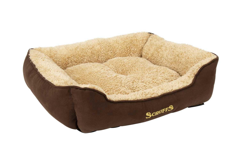 Hondenmand Cosy Box Bed Bruin