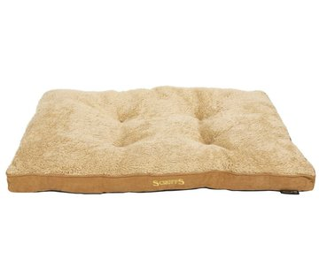 Scruffs Dog Cushion Cozy Beige