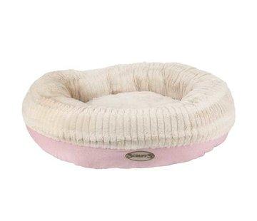 Scruffs Dog Bed Ellen Donut Pink