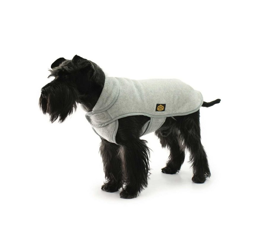 Dog Coat Fleece Dark Grey
