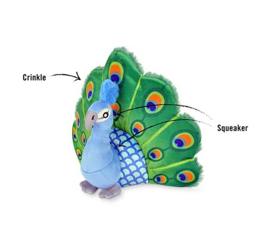 Dog Toy Peacock
