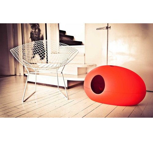 Sindesign Design Kattenbak Poopoopedo Rood