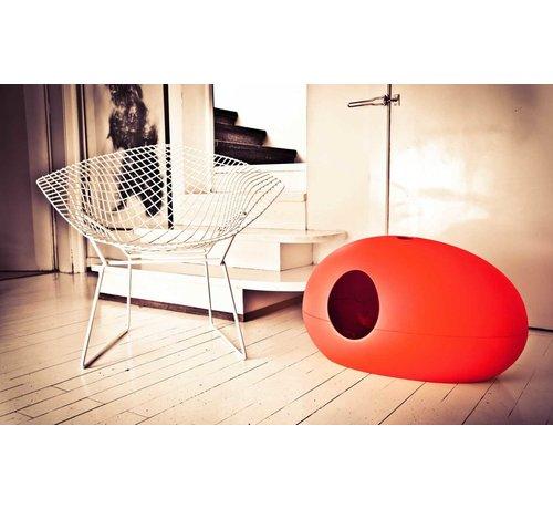 Sindesign Design Kattenbak Poopoopeedo Rood