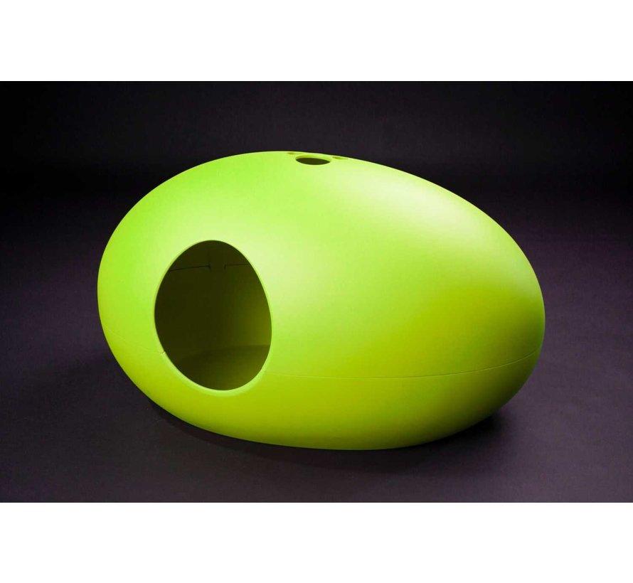 Design Litter Box Poopoopeedo Green