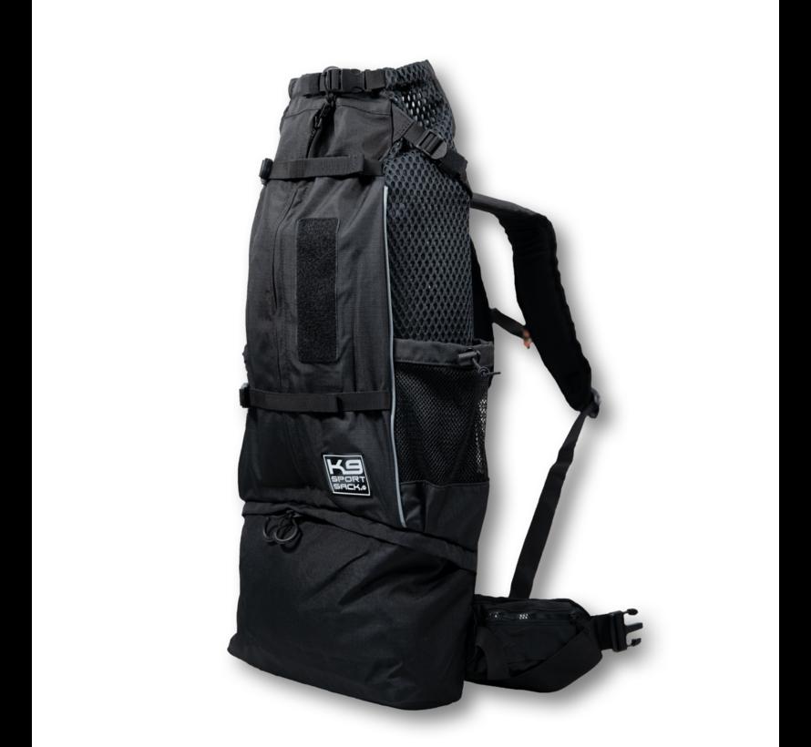 Dog Backpack Knavigate Black