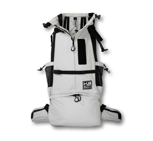 K9 Sport Sack Dog Backpack Knavigate Grey