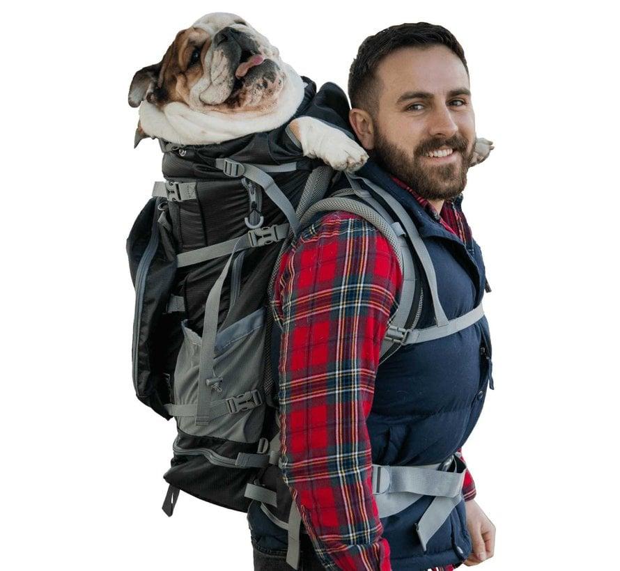 Dog Backpack Rover 2 Black