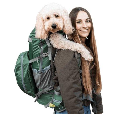 K9 Sport Sack Dog Backpack Rover 2 Green