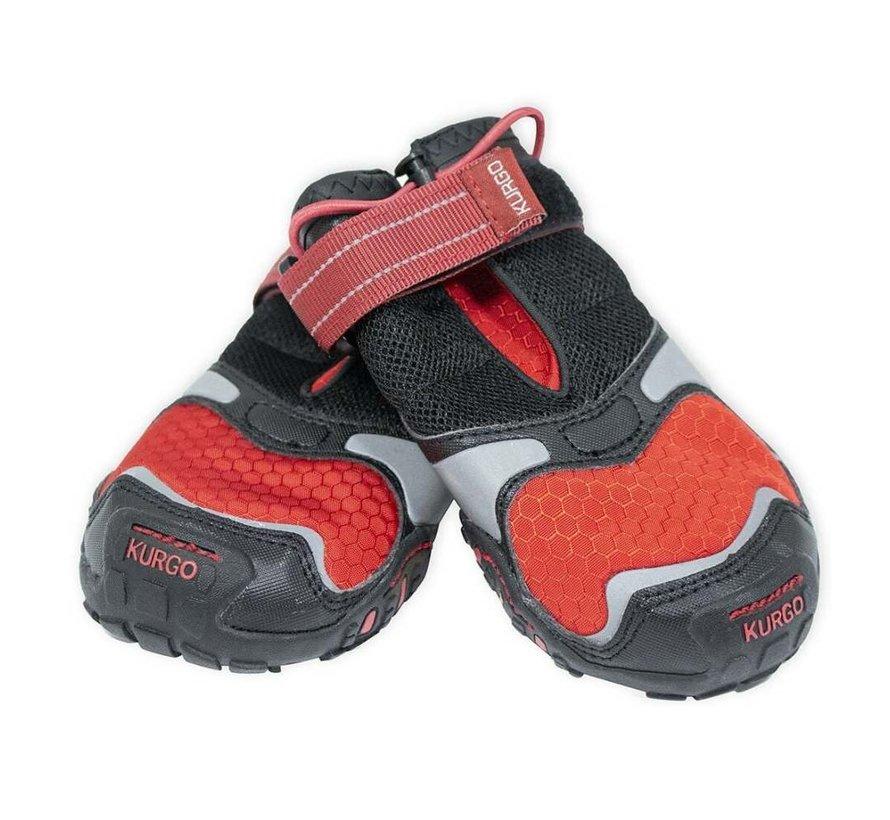 Dog Shoe Kurgo Blaze Cross Red