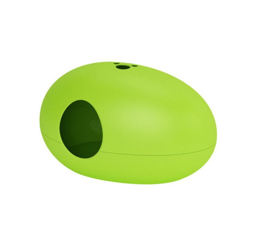 Design Kattenbak Poopoopeedo Groen